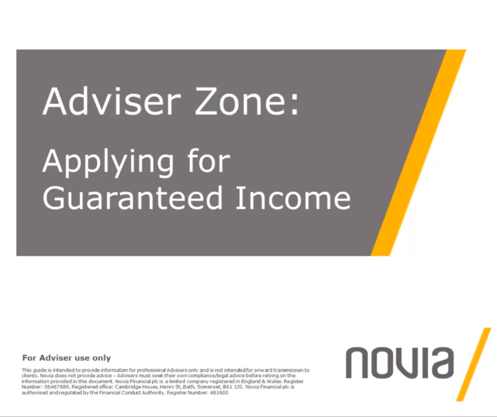 Applying for Guaranteed Income